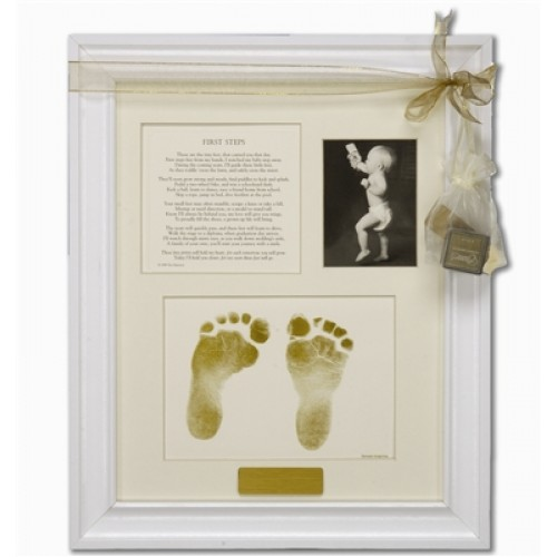 First Steps Footprint Frame