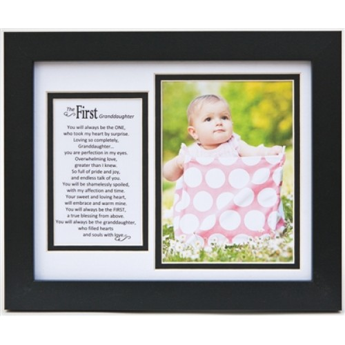 First Granddaughter Frame: 8x10