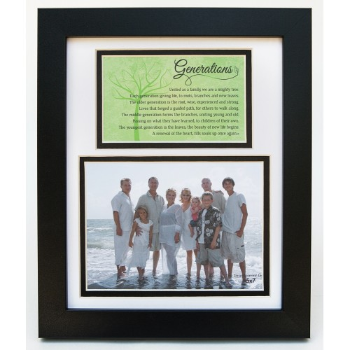 Family Portrait Frame: Generations