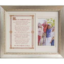 Grandparents Frame: What Grandparents are Made of 8x10