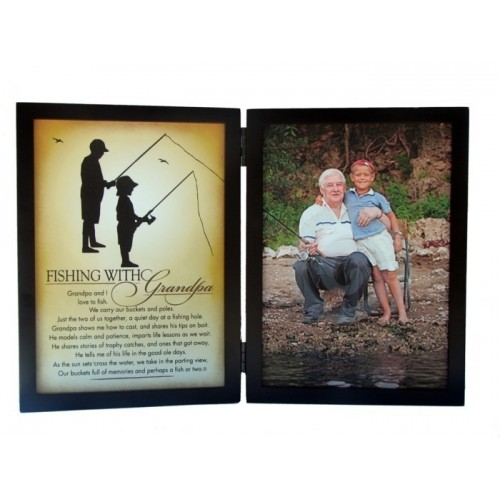 Fishing with Grandpa Frame 5x7 Tabletop