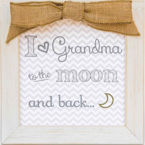 Grandma Frame: Moon and Back