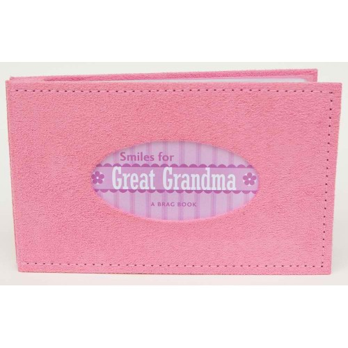Great-Grandma Gift: Smiles for Great-Grandma Brag Book