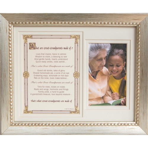 Great-Grandparents Frame: Made of 8x10
