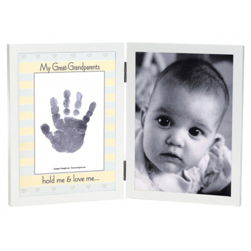 Great-Grandparents Handprint Frame