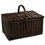 Buckingham Basket For 4 W/Coffee