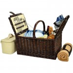 Buckingham Basket For Four With Blanket