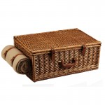 Dorset Picnic Basket For Four With Blanket