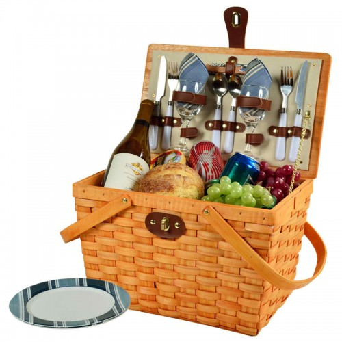 Frisco Picnic Basket For Two