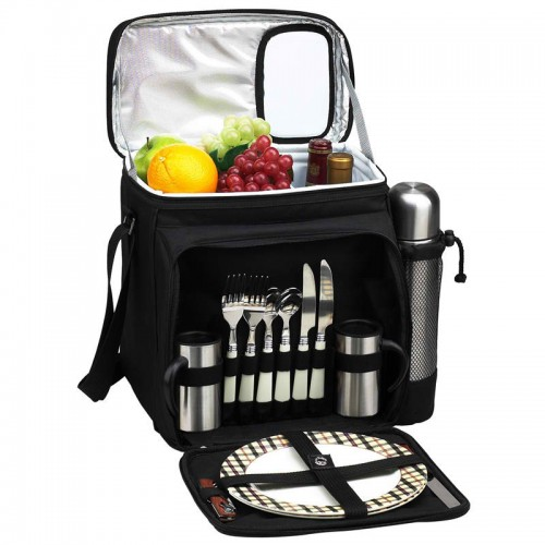 Picnic Cooler For Two With Coffee Service