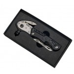 "Black Glass Breaker with Multi Tools, 6"" L"
