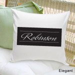 Family First Throw Pillow