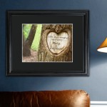 Personalized Endless Love Anniversary Print